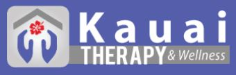 Logo for Kauai Therapy and wellness- physical therapy, massage, cupping, hand therapy at The Medical Village