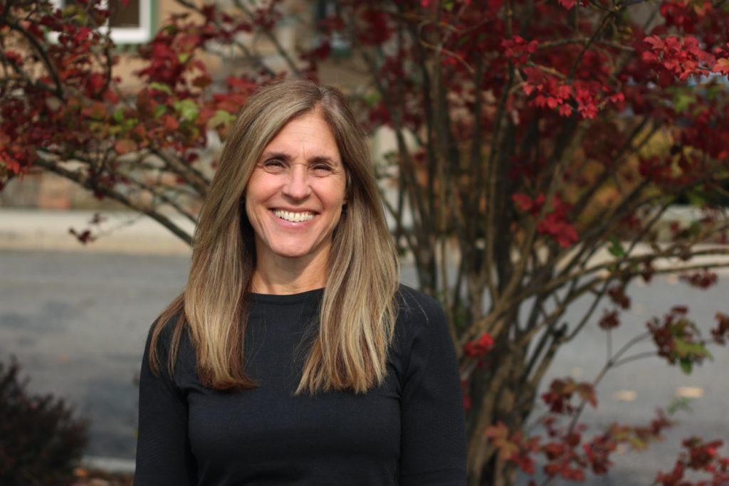Lorri Morris, Program manager and registered nurse of the cardiac rehab team