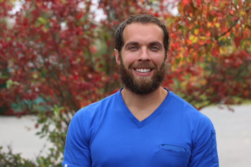 Chad Priest is the exercise expert on the NICR team, is an exercise physiologist