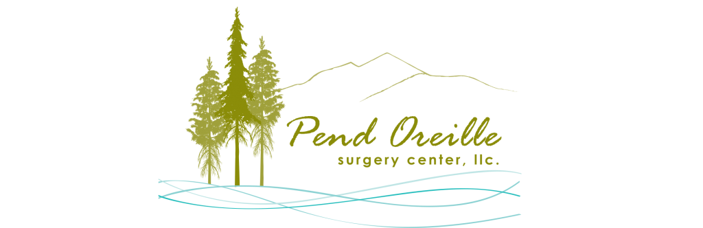 Logo for Pend Oreille Surgery Center,POSC, The surgery center in The Medical Village